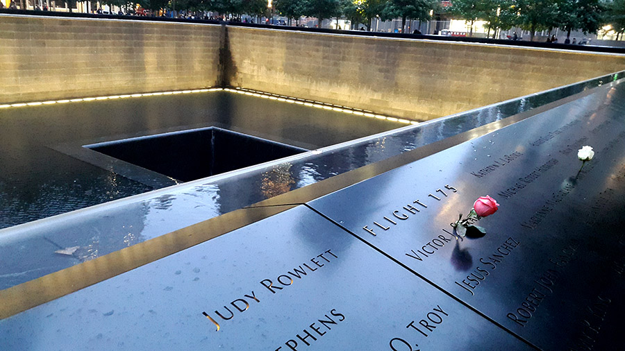 9-11 memorial Manhattan NYC