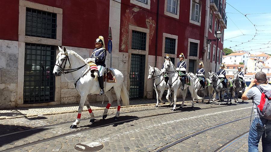 Lisbon cavalry Portugal