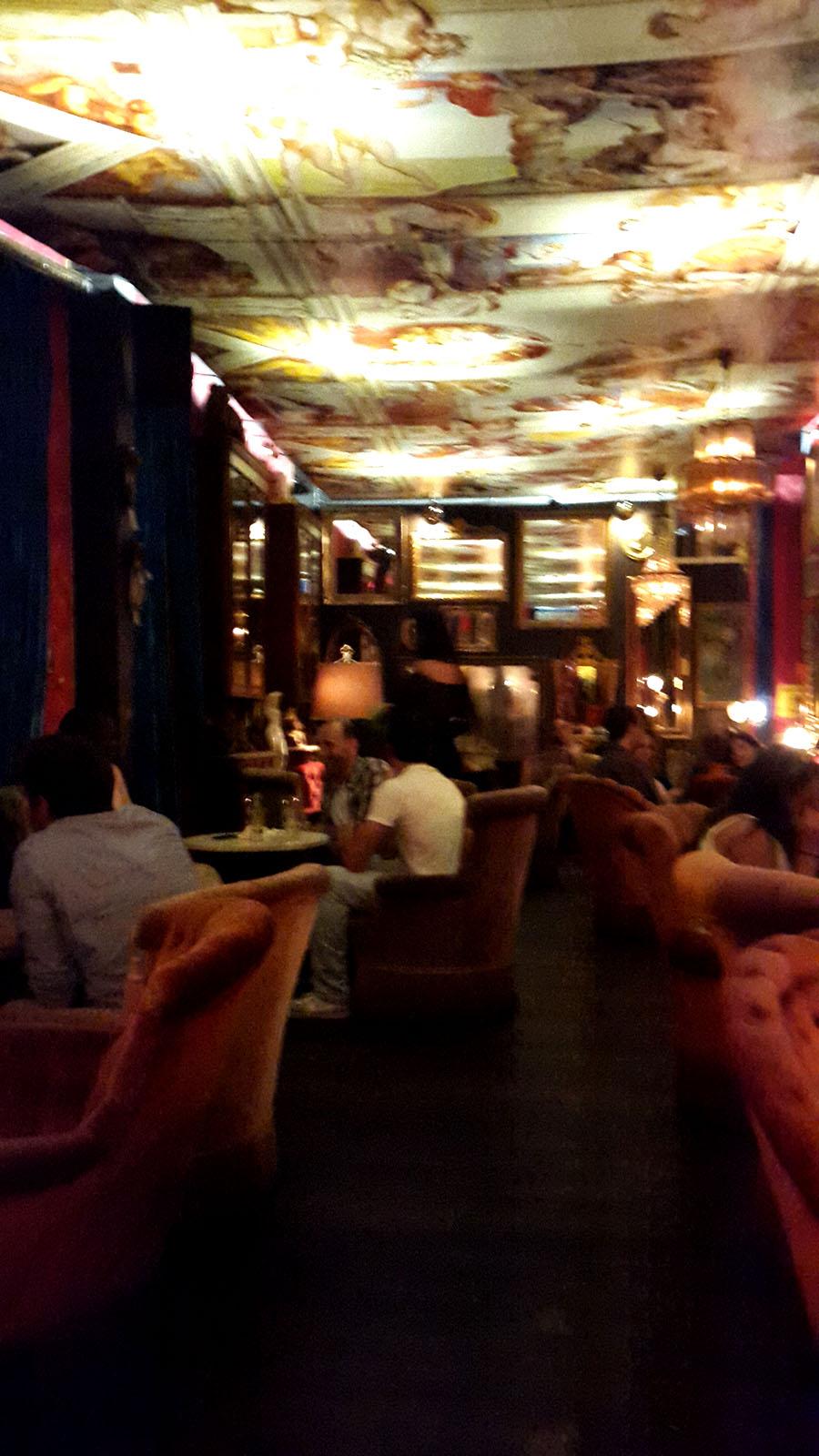 Pensão Amor bar interior - Lisbon
