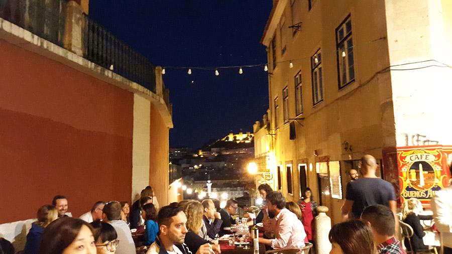 Restaurants in Bairro Alto Lisbon