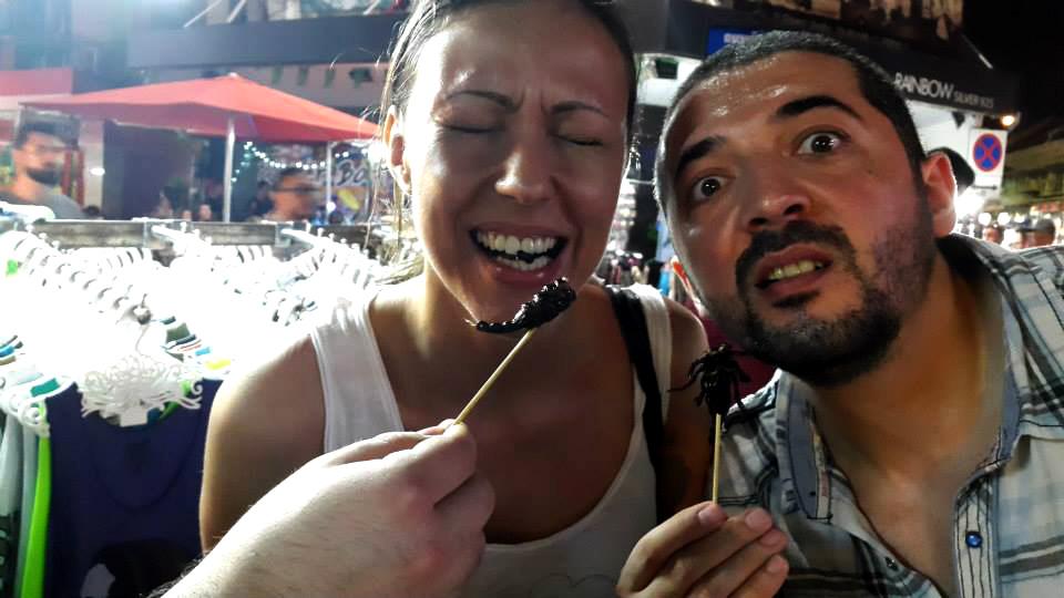 Bangkok Scorpion food Bangkok