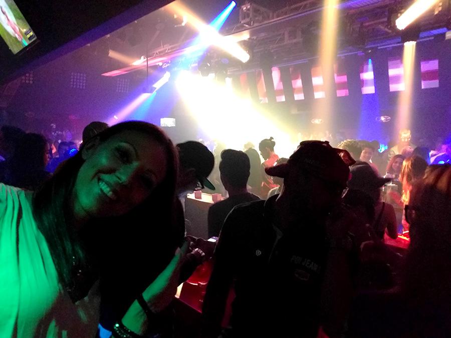 Inside of the Zouk night club in Kuala Lumpur Maleysia