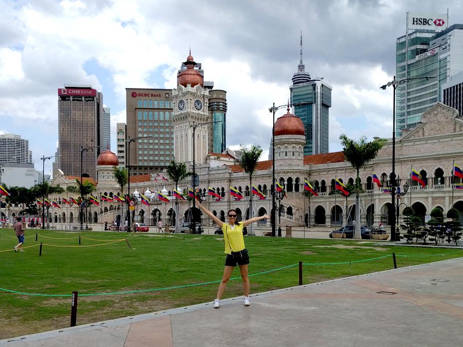 Sultan Abdul Samad Bilding at Merdeka Square