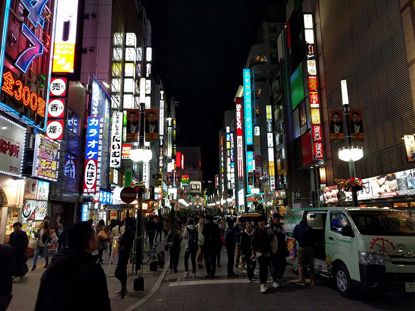 Shinjuku streets - Tokyo