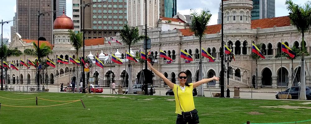 Me in Kuala Lumpur