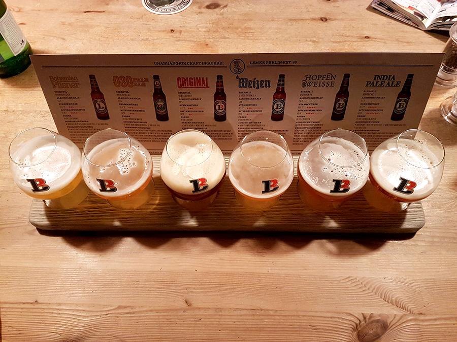 Beer Brauhaus Alexander platz Berlin