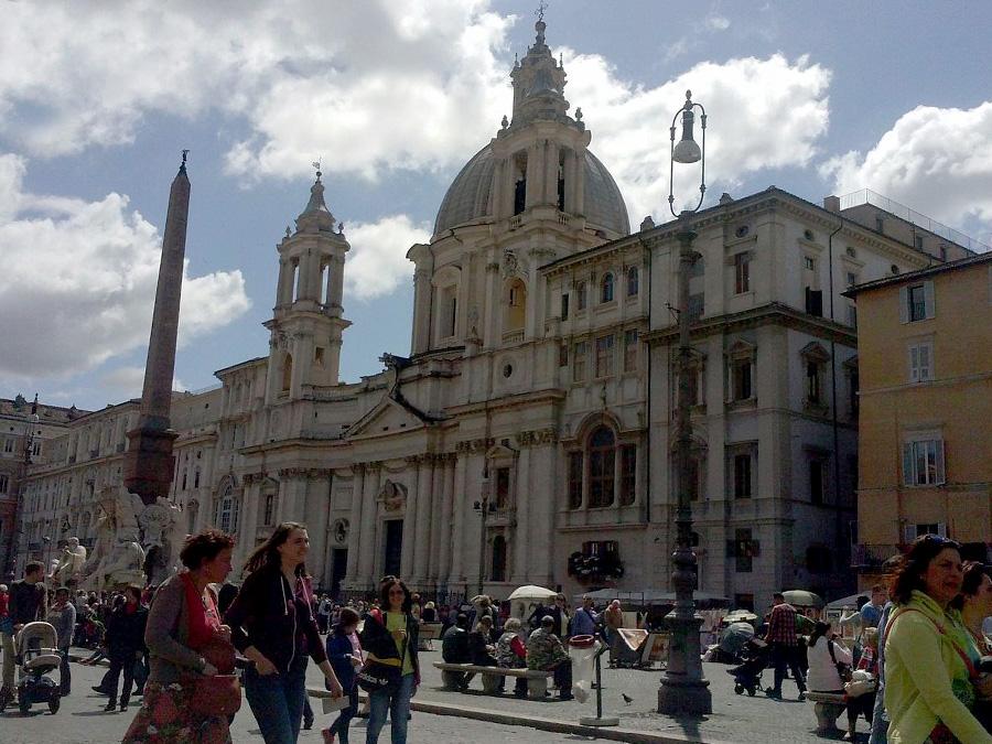 Piazza Navona Italy Rome