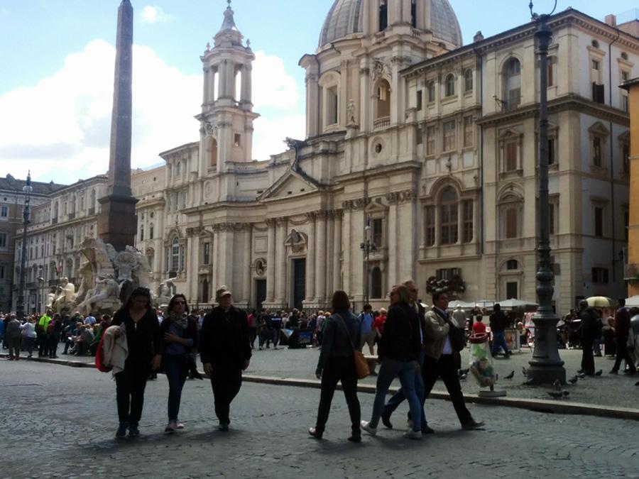 Roman streets, Piazza Navona