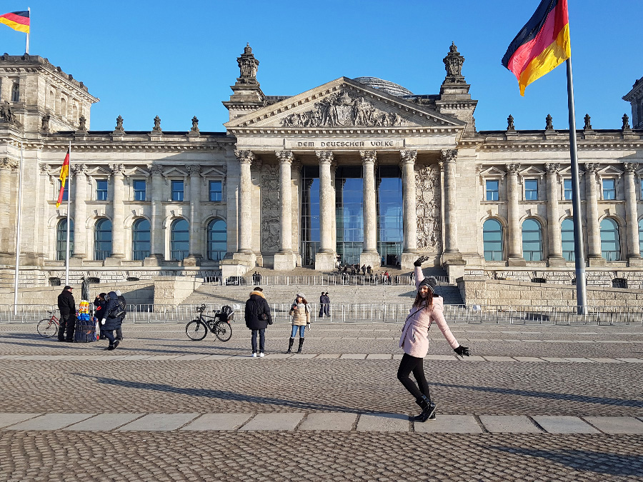 Reichstag building German Parliament, Berlin