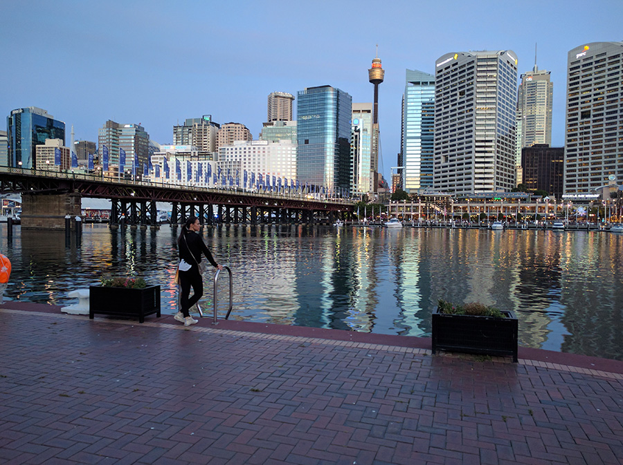 Darling harbour Sydney ocean view