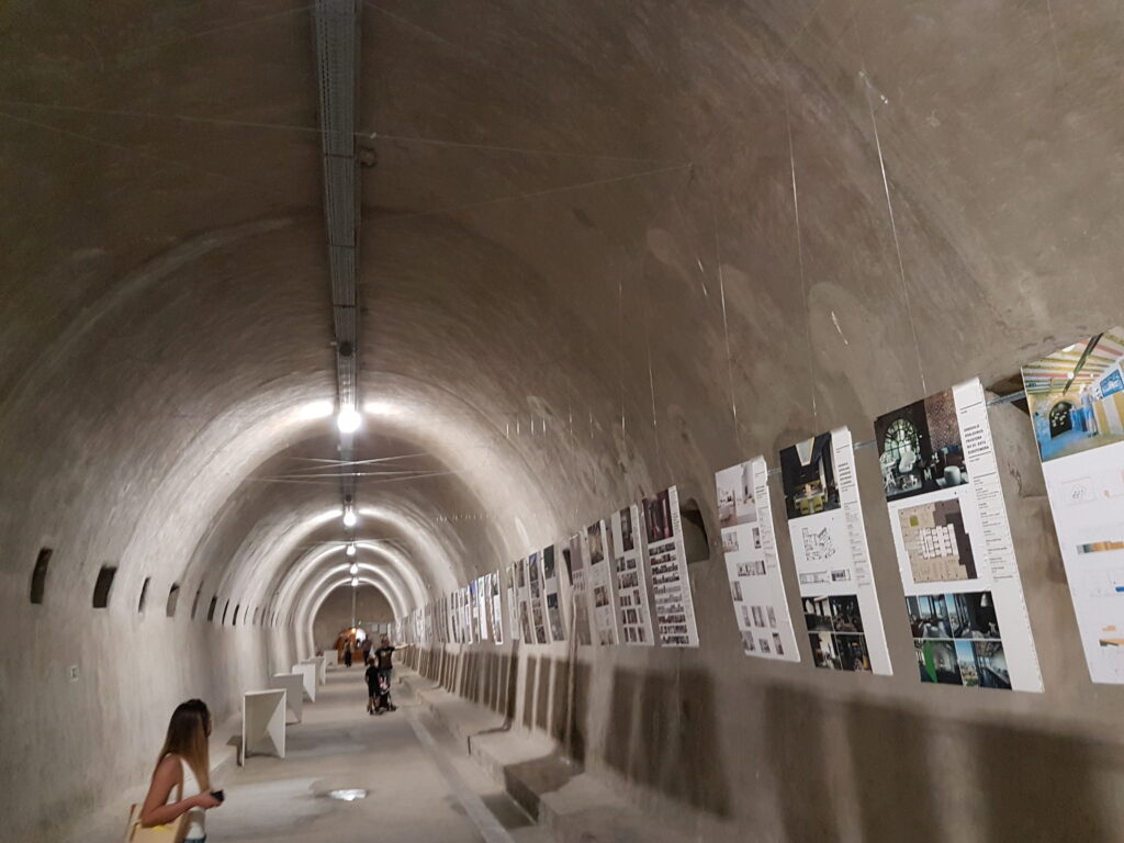 Gric tunnel, museum, Zagreb