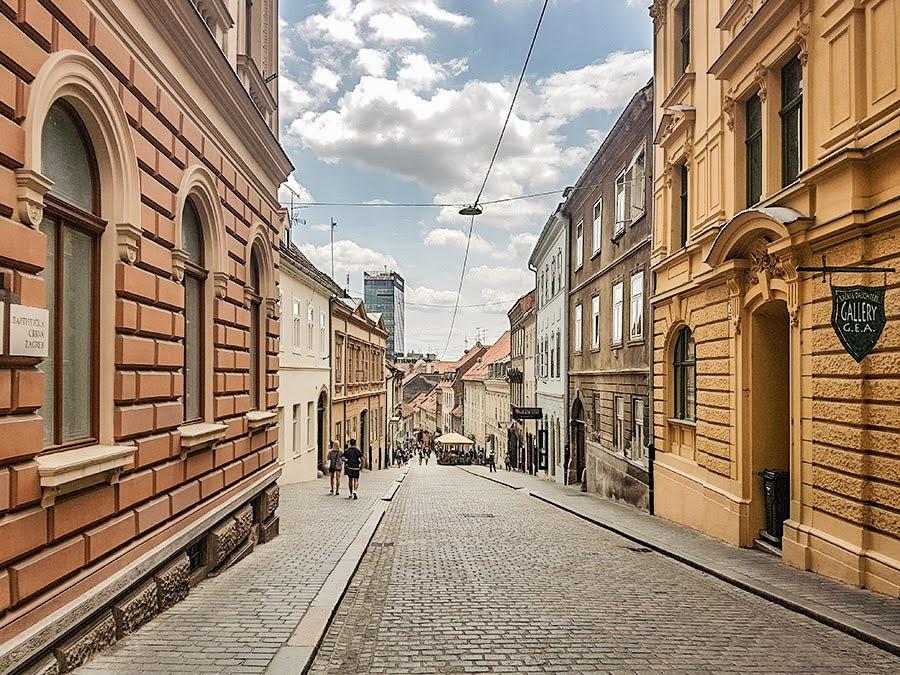 Zagreb Gornji grad, ulica